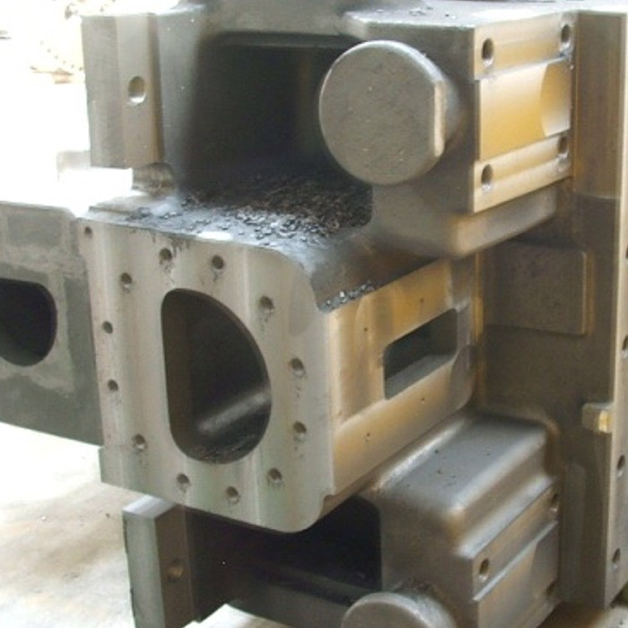 Bearing casing for steam turbine