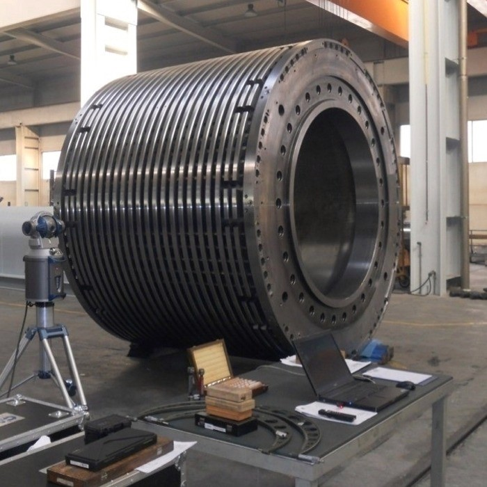 Rotor body for hydroelectric power plant