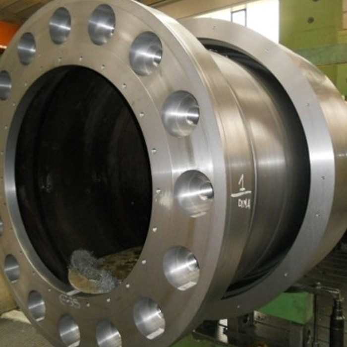 Turbine shaft for hydroelectric power plant