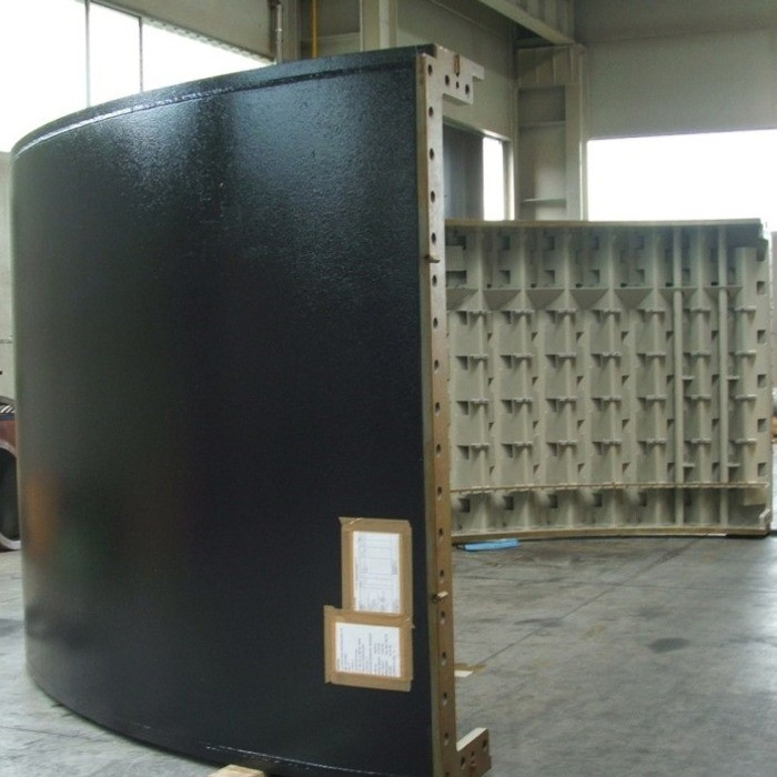 Stator casing for hydroelectric power plant