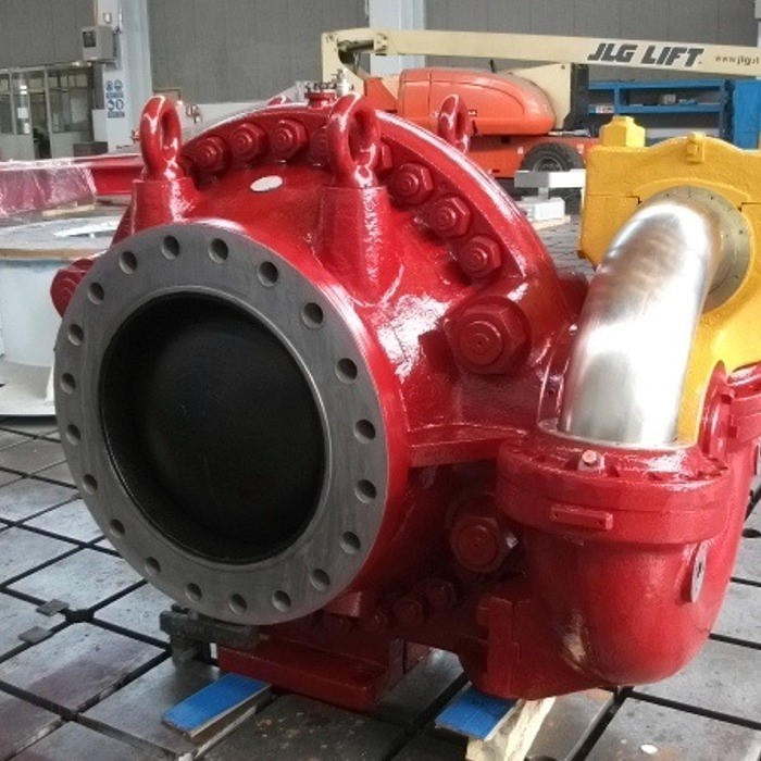 Valve for hydroelectric power plant